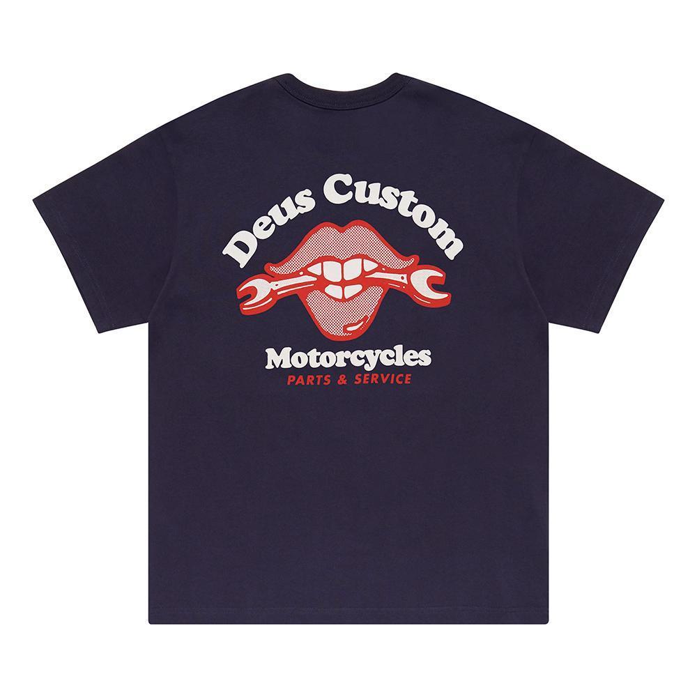 T-shirt Deus Ex Machina - Lips Tee