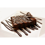 chocolate-with-milted-chocolate-on-white-ceramic-plate-45202