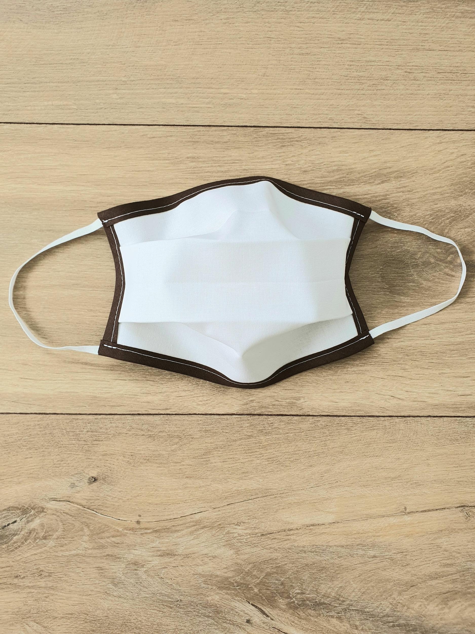 Masque à élastiques chocolat