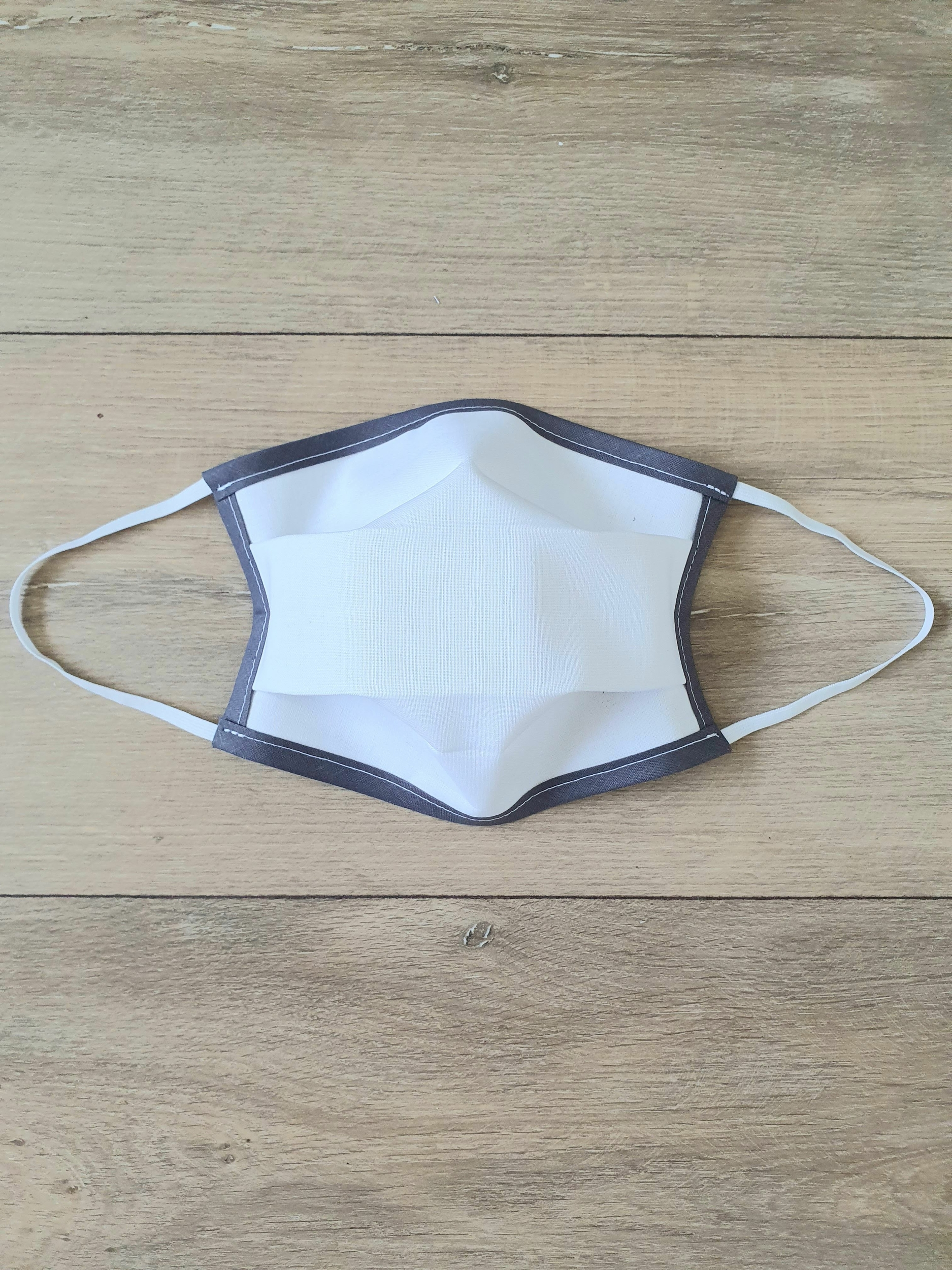 Masque à élastique gris