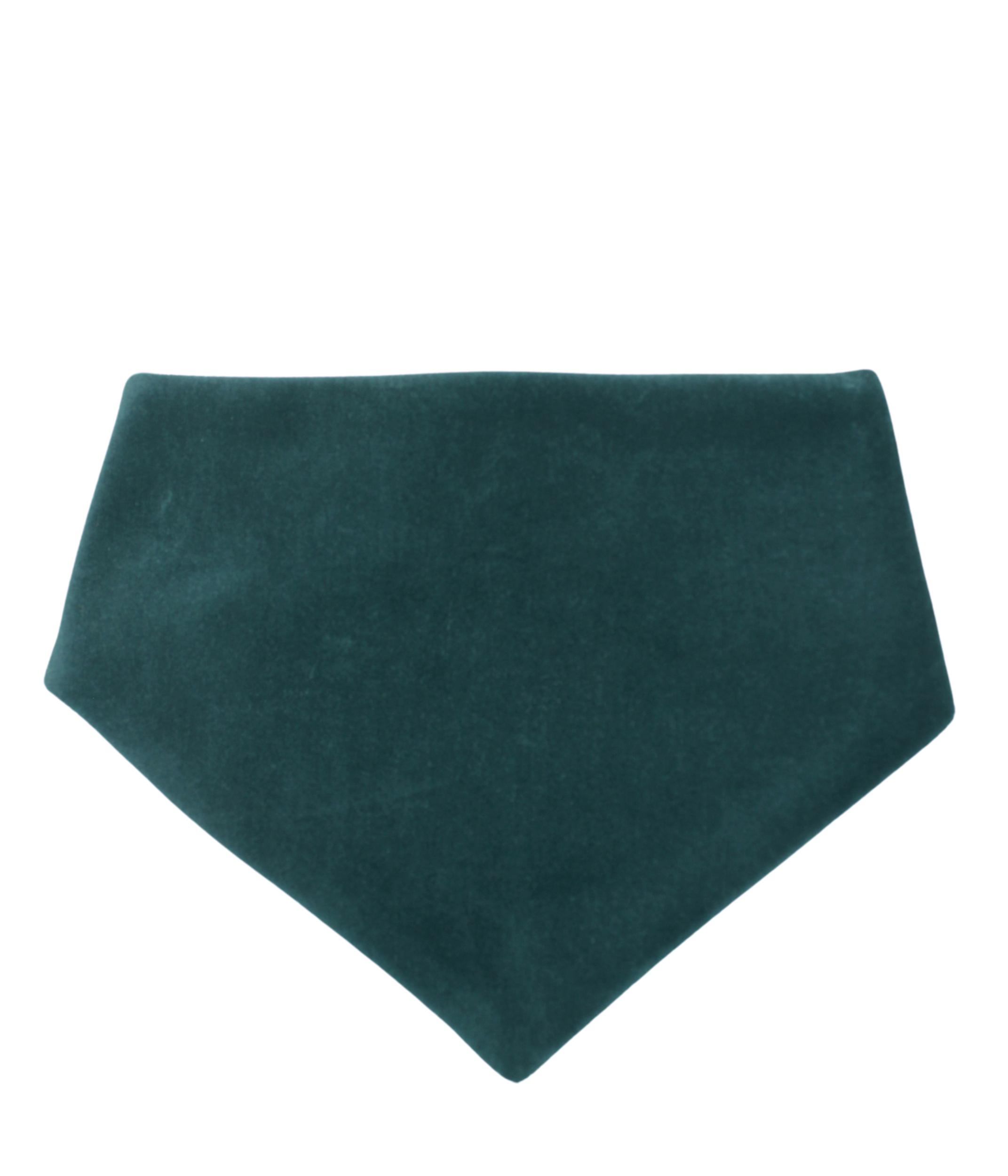 Bavoir bandana - DARK GREEN