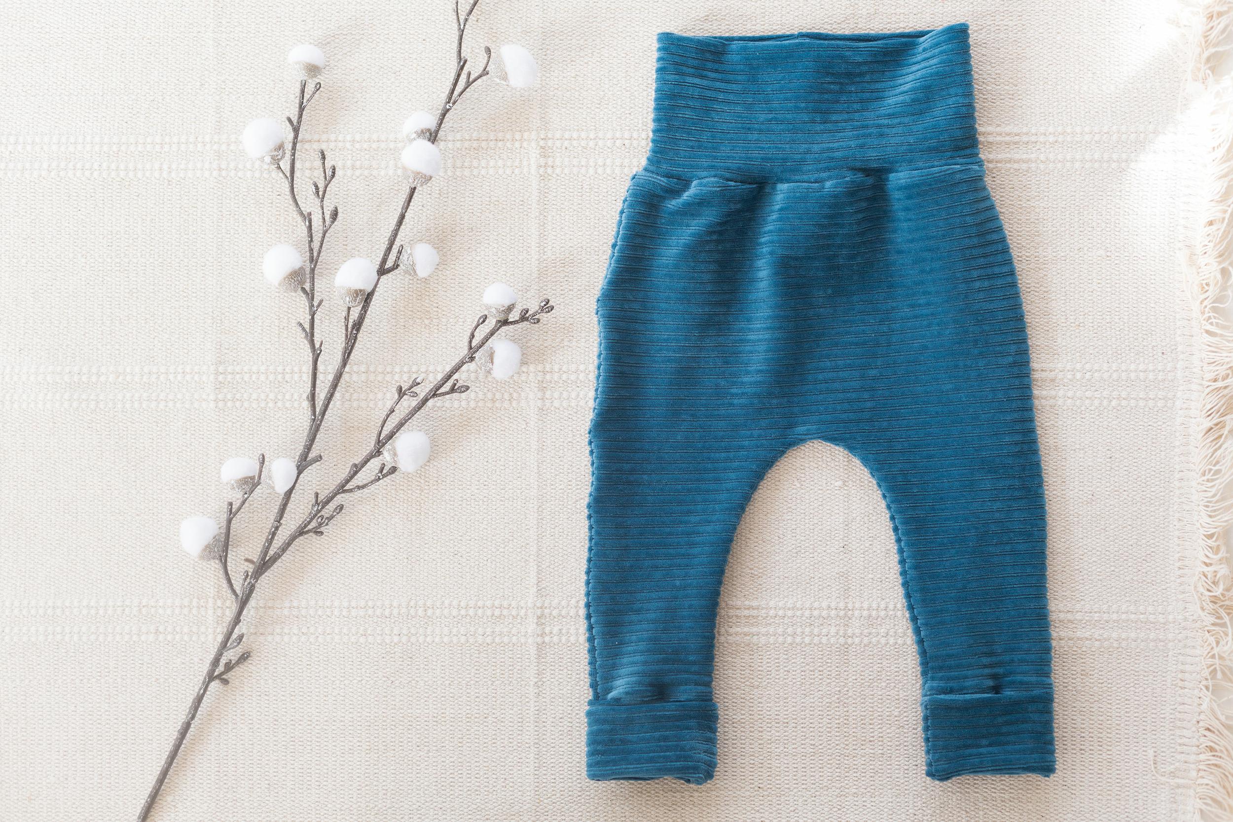 Pantalon évolutif - PETROLE