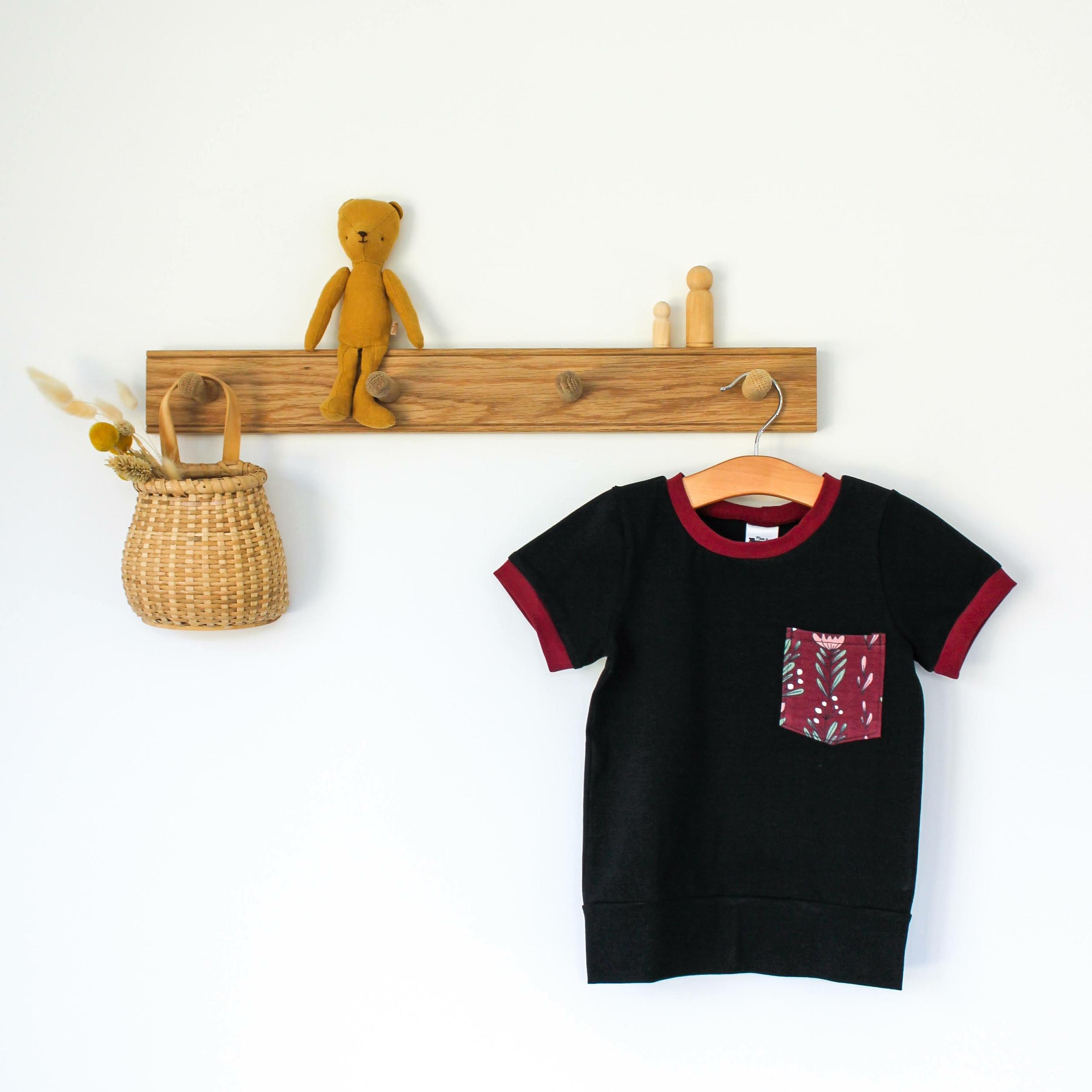 Tee-shirt évolutif - BURGUNDY