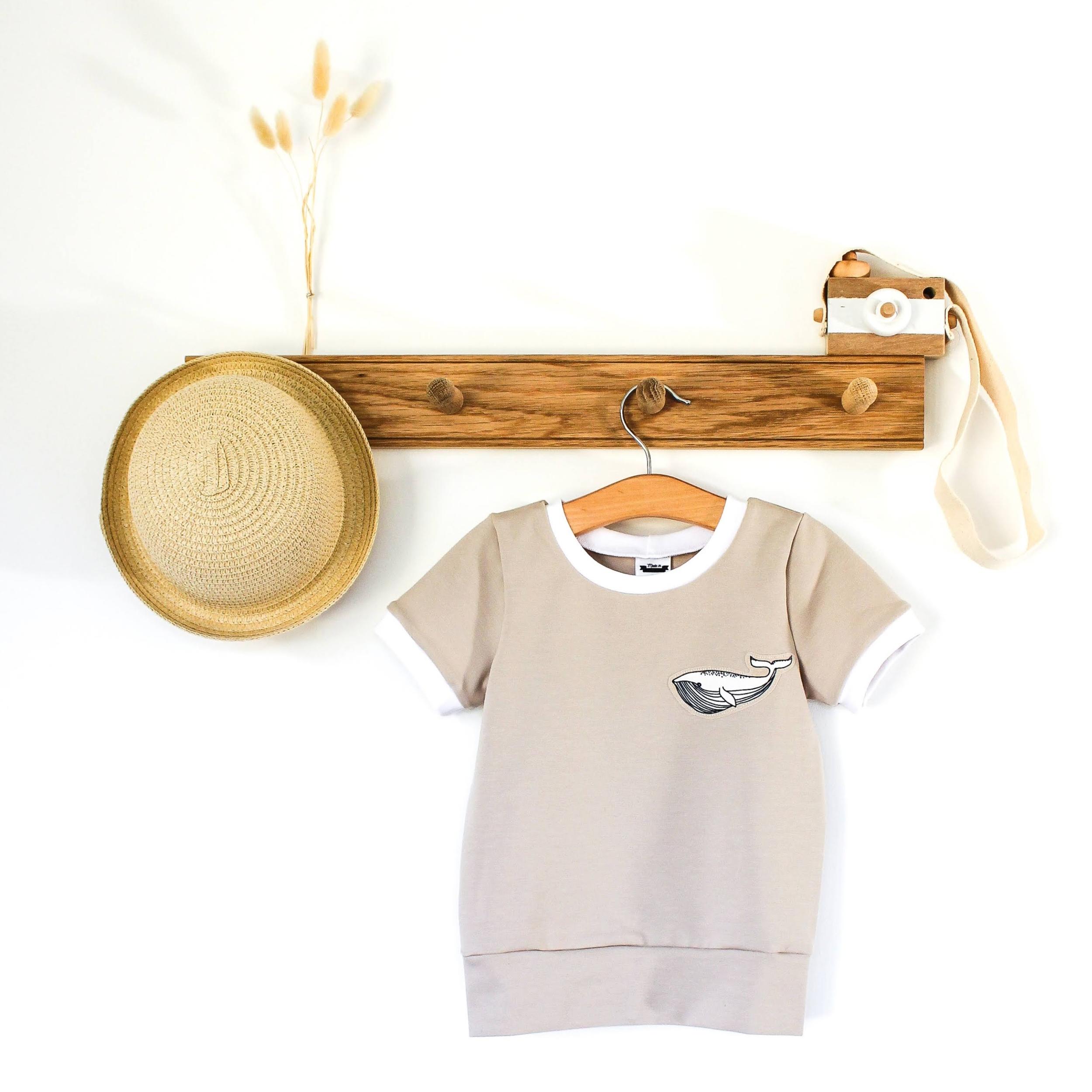 Tee-shirt évolutif - WHITE WHALE