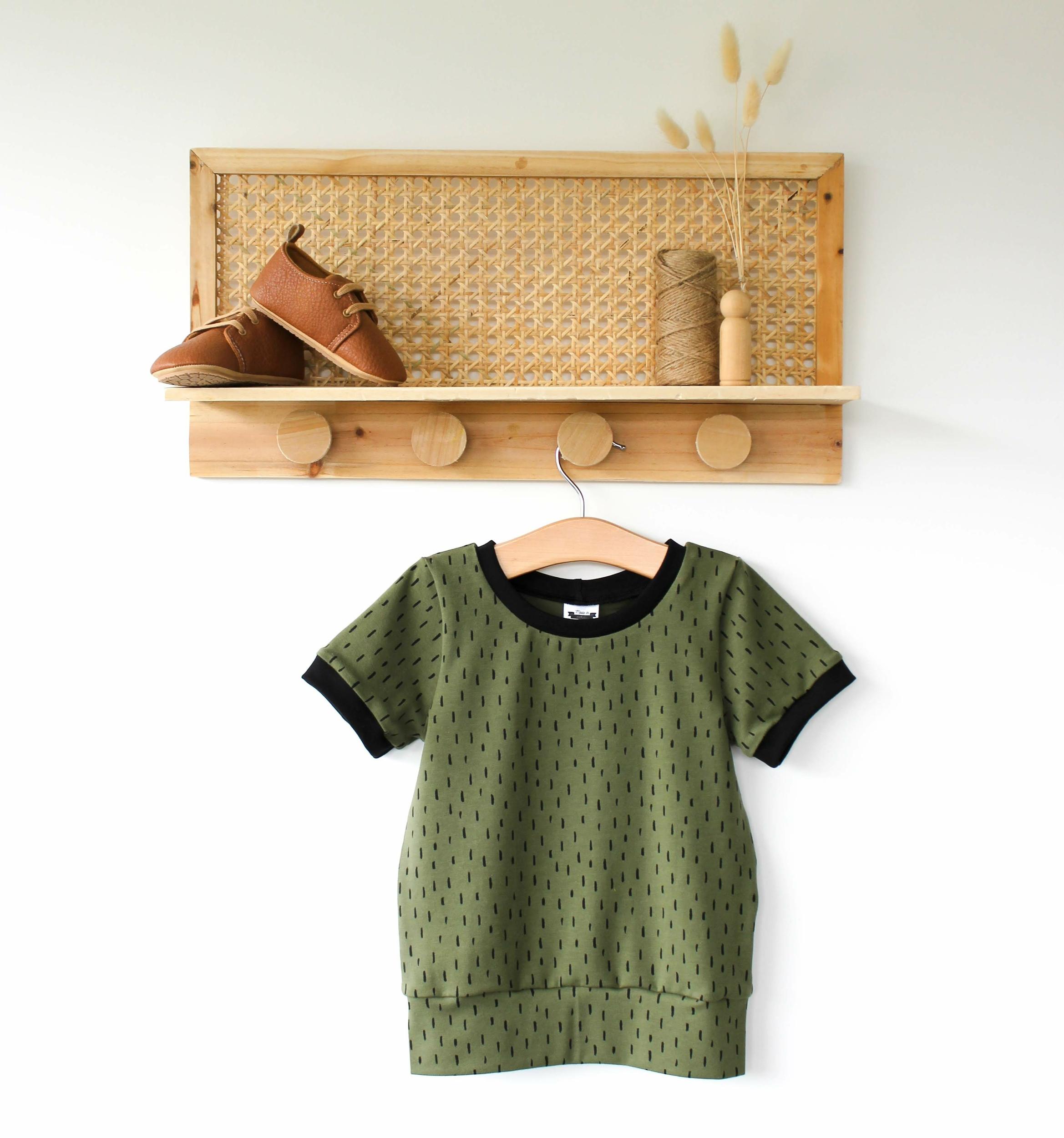 Tee-shirt évolutif - KAKI
