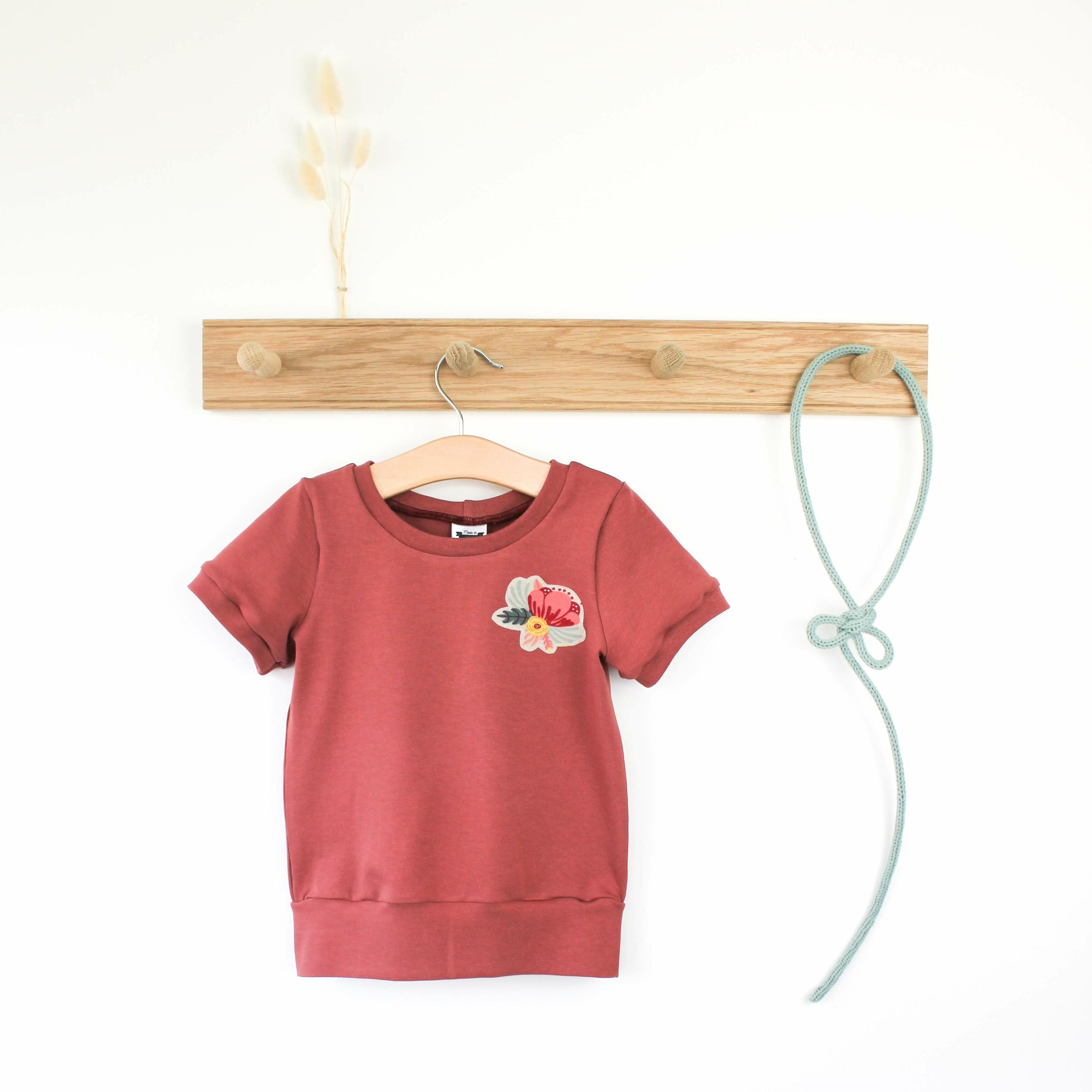 Tee-shirt évolutif - PEONY TERRA