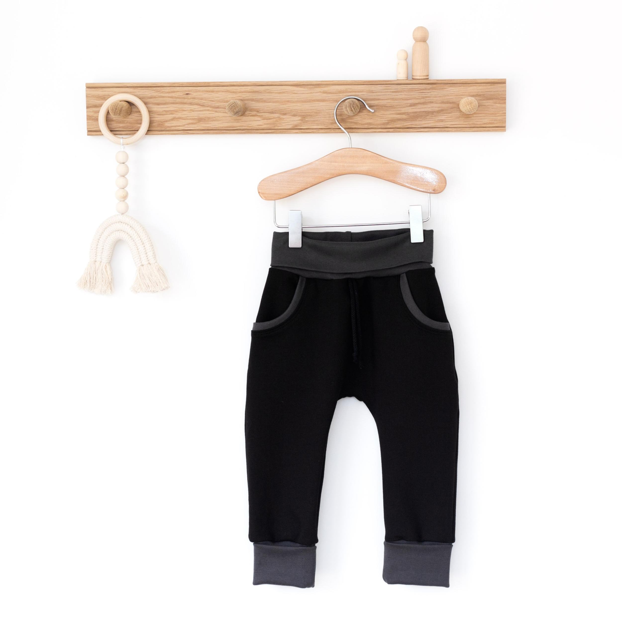 Pantalon évolutif - NOIR & GRIS
