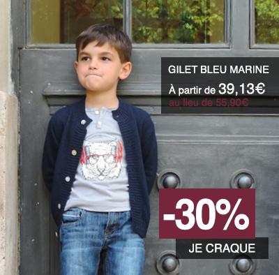 gilet-garcon-bleu-marine