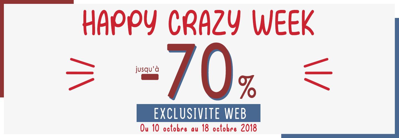 Crazy Week - Bobine Paris