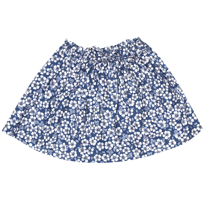 fbf6fab31fe Jupe volantée - Imprimés Fleurs Bleues - FILLE ÉTÉ 2019 Jupes   Shorts -  Bobine