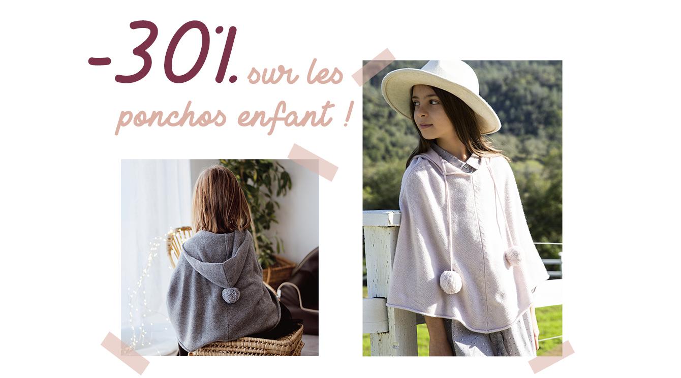 Poncho Bobine Paris