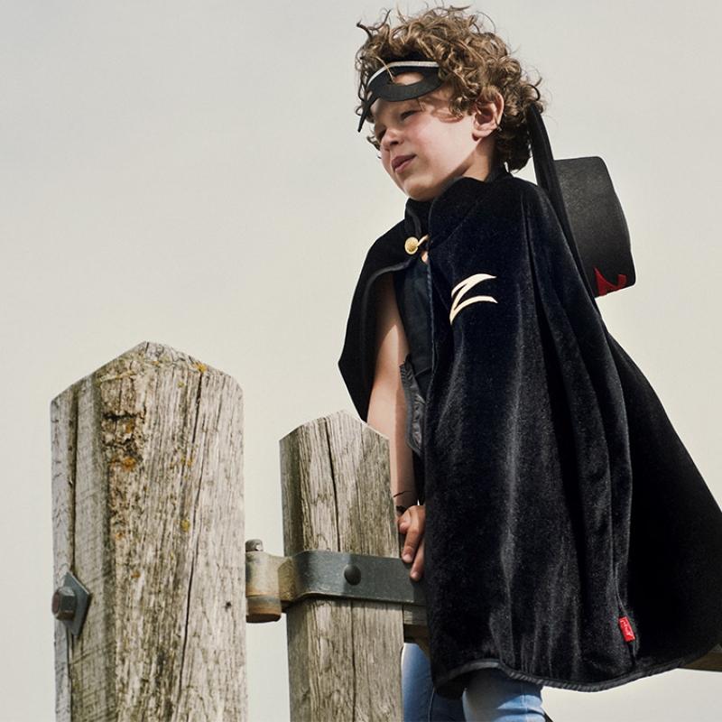 Cape noire de Zorro