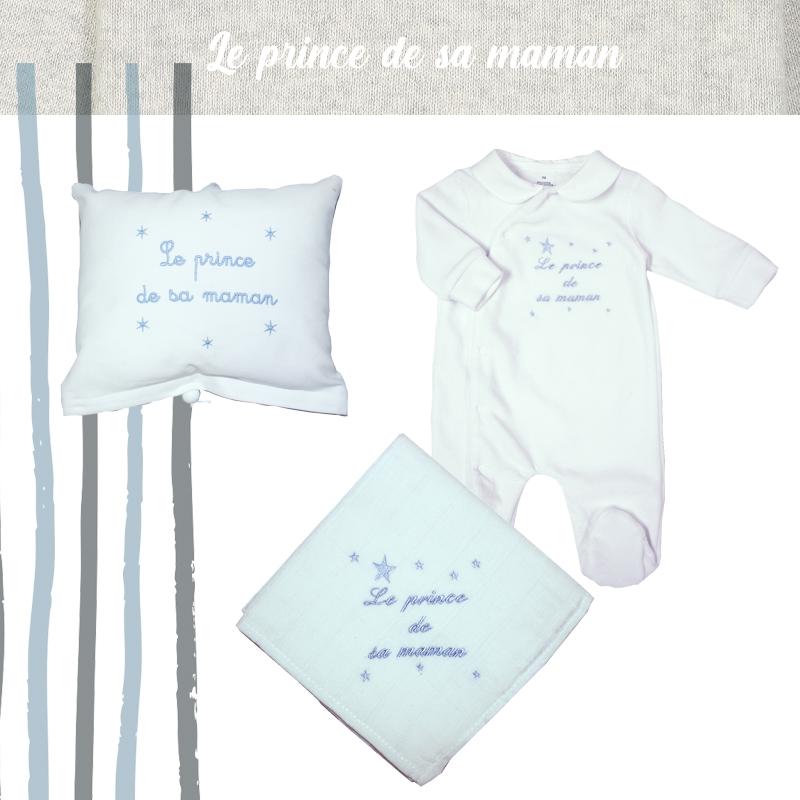 Accessoire de naissance le prince de sa maman