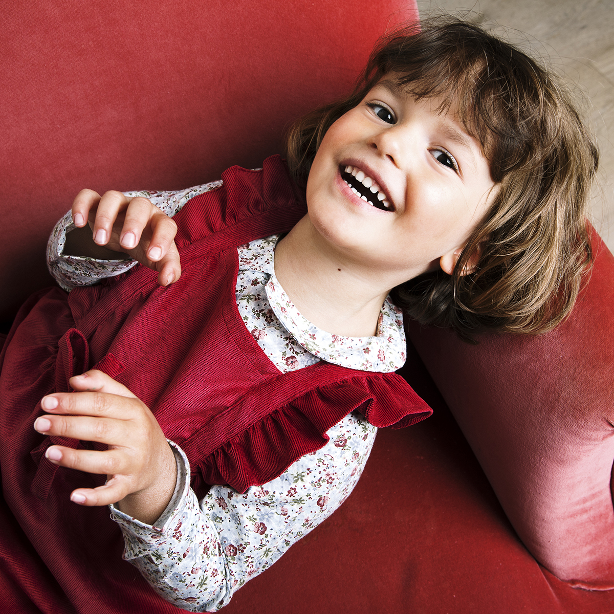 blouse_fille_robe_rouge_velours-1