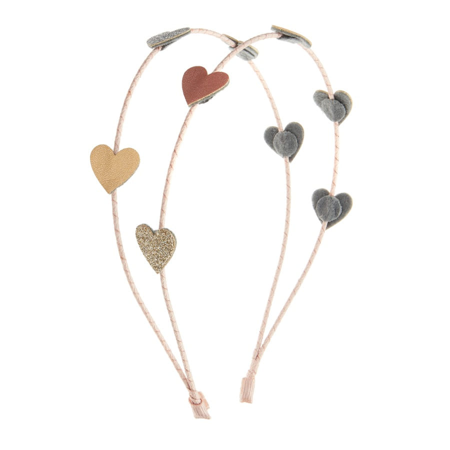 Serre-tête girly love heart