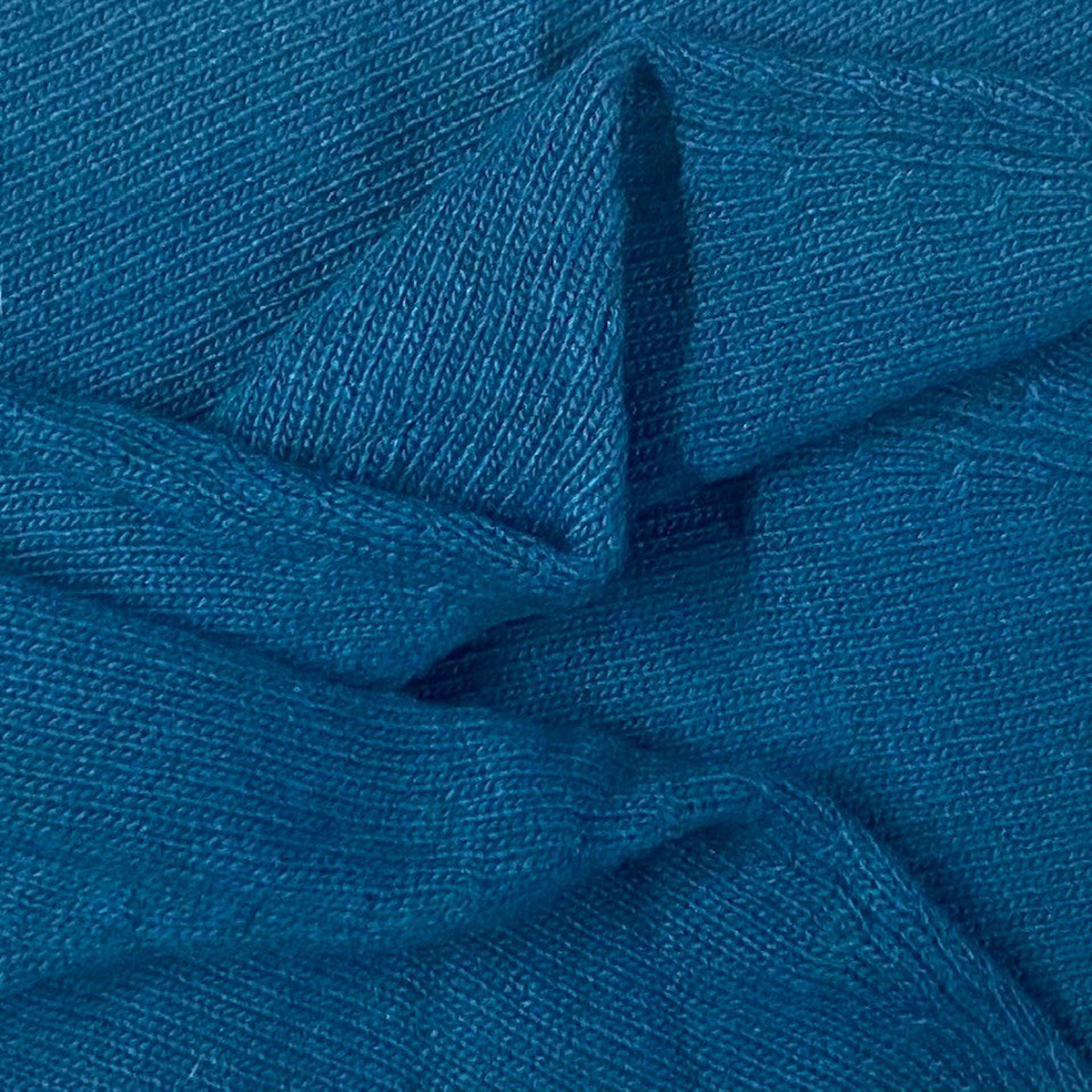 Poncho Fille - Bleu Canard
