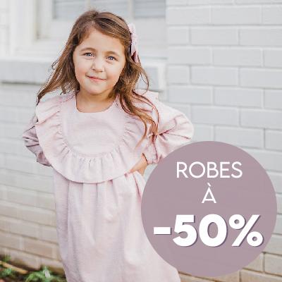 Robes à 50%