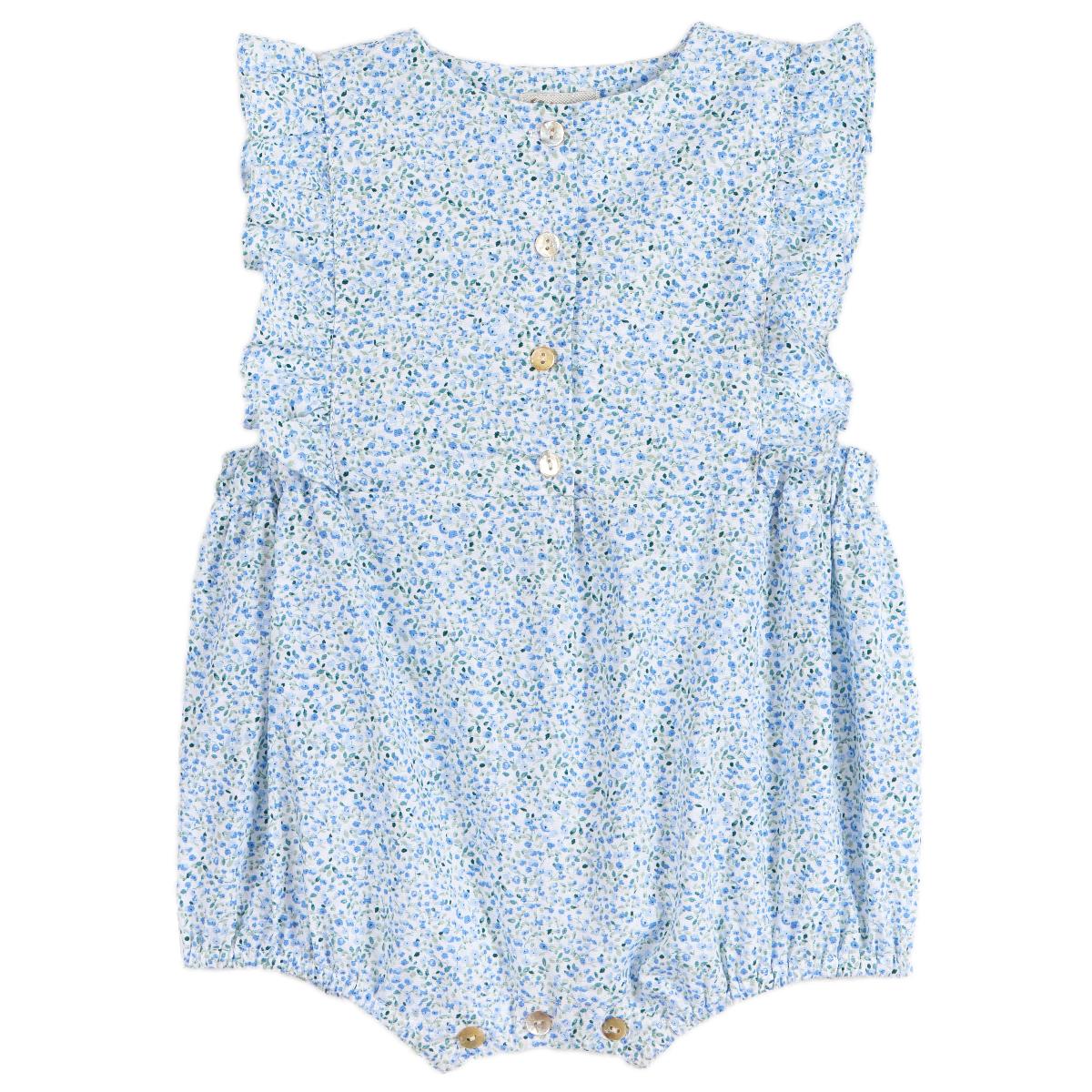 Combi bébé Florentine liberty bleu