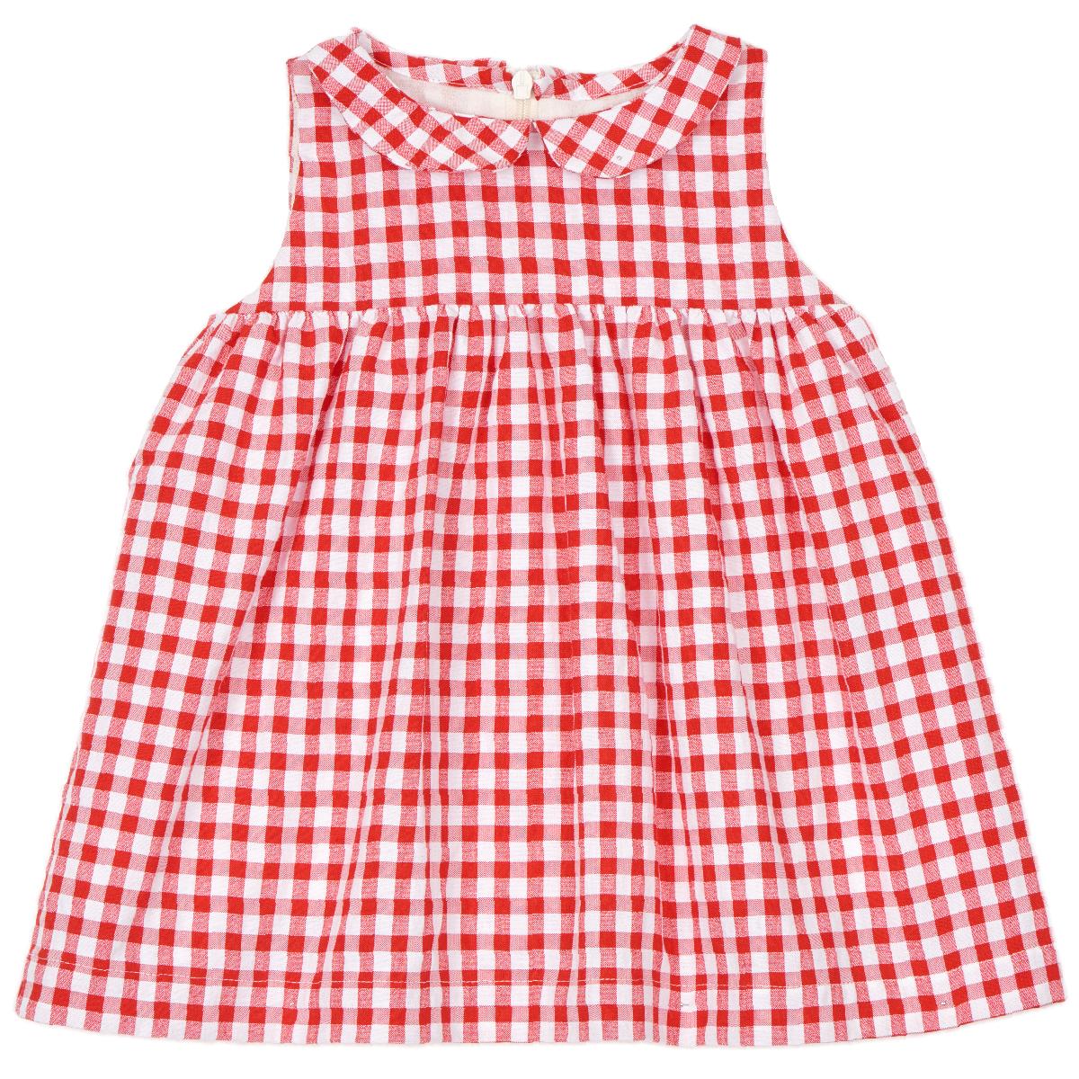 Robe bébé Suzie vichy rouge