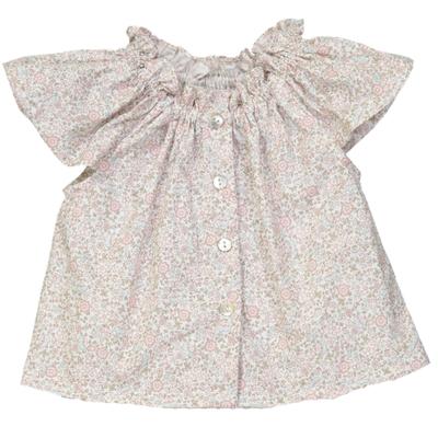 Blouse Bébé imprimée fleurs - Louisiane