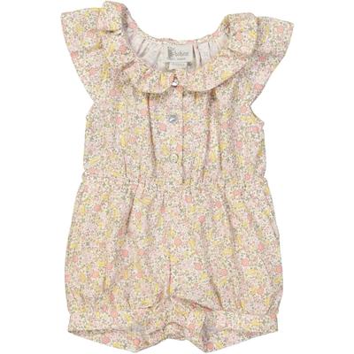 Combishort bébé fille imprimé fleurs - Kentucky