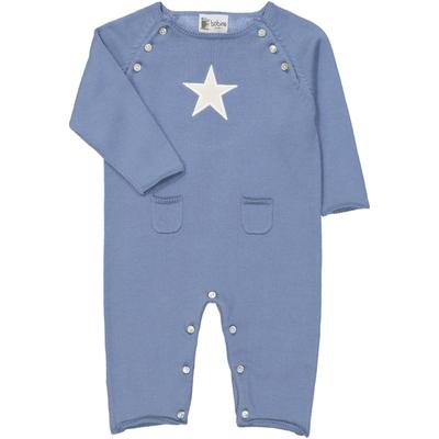 Combinaison bébé étoile bleue jean