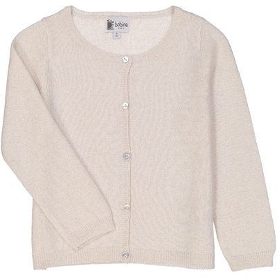 Cardigan fille Sirio Or