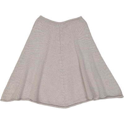 Poncho fille Gris