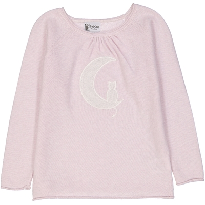 Pull fille Lune Rose