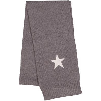 Echarpe bébé étoile grise