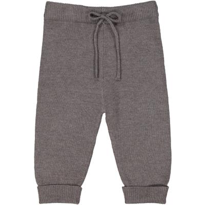 Pantalon bébé en laine gris