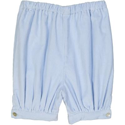 Panty bébé garçon velours bleu jean