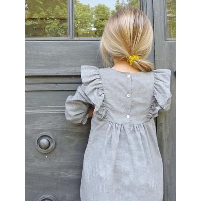 Robe imprimé gris