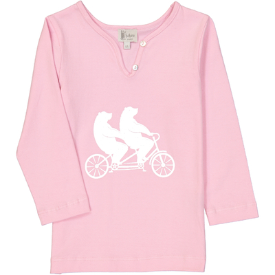 T-Shirt Tandem -  Rose