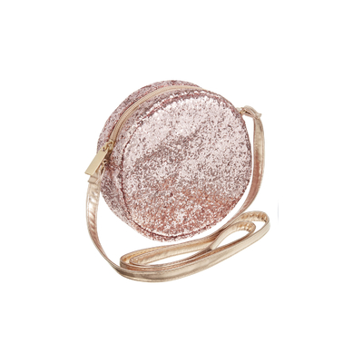 Sac Girly Rond - Paillettes Rose