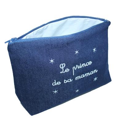 """Trousse de toilette bébé - """"Le prince de sa maman"""""""
