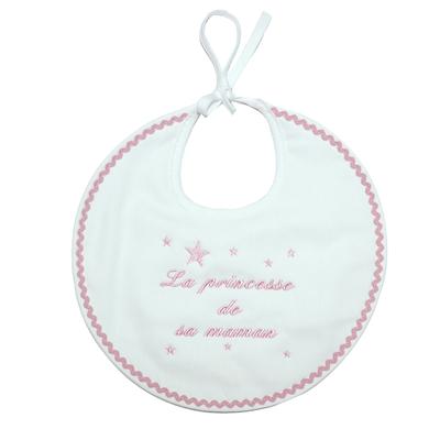 "Bavoir ""La princesse de sa maman"""