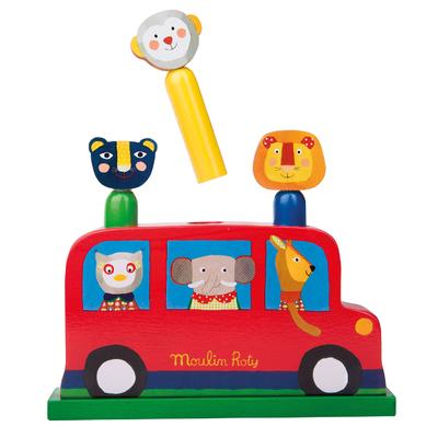 Pop up bus