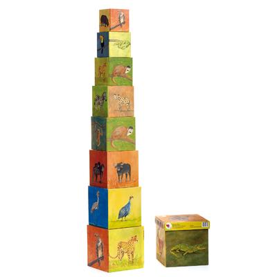 Pyramide Cubes - Jungle