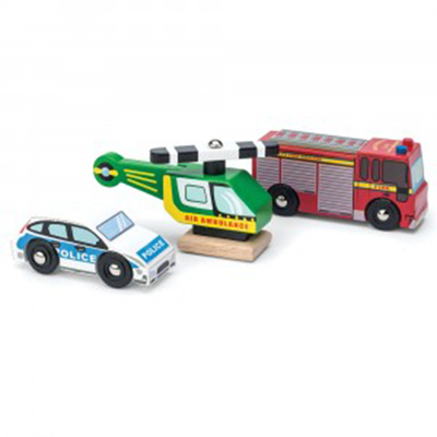Set de voitures - Urgence