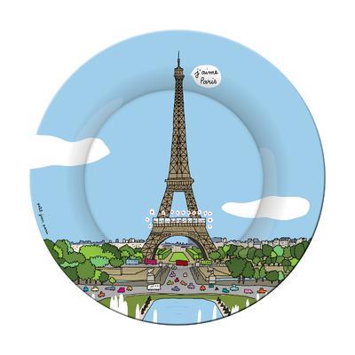 Assiette - Tour Eiffel