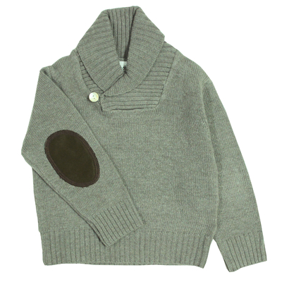 Pull Col Châle - Taupe