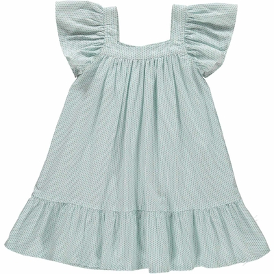 Robe Fanny - Pois Vert