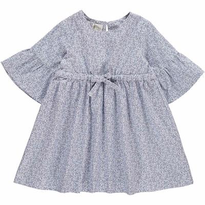 Robe Chiara - Fleurs bleues