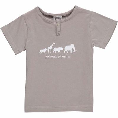 T-shirt gris - Africa