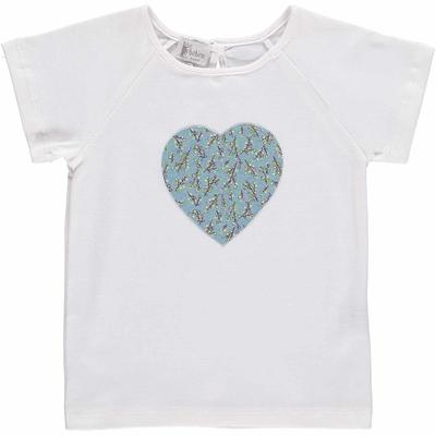 T-shirt MC - Coeur motif vigne