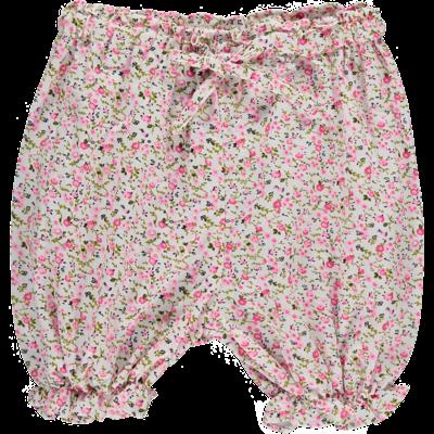 Panty Bébé - Imprimés Fleurs Roses