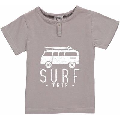 T-shirt gris - Van Surf trip
