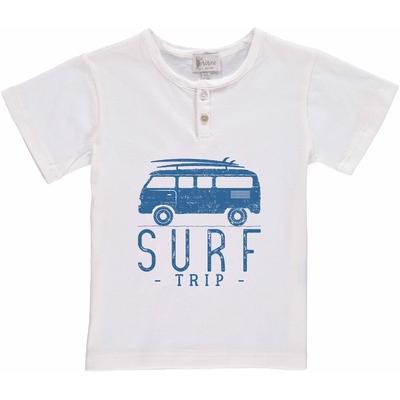 T-shirt blanc - Van Surf trip