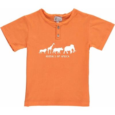 T-shirt orange - Africa